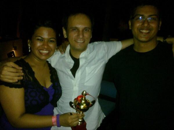 2nd Runner up at Chennai Salsa Festival – Kalpana & Karthik