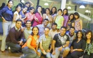 Recent Batch of Salsa Level 1 graduates at Furor