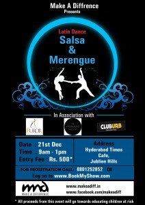 Salsa for a Cause - Make a difference