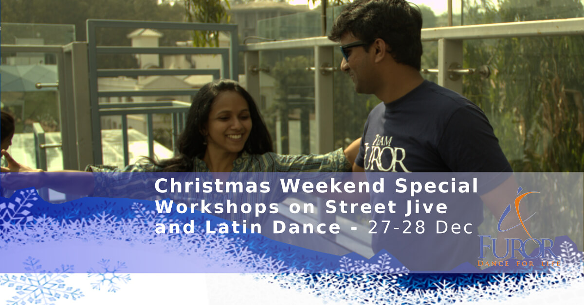 Christmas Bonanza – Special Weekend Workshop on Street Jive, Cha-cha & Merengue
