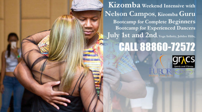 Kizomba Bootcamp with Nelson Campos July 1-2, 2017
