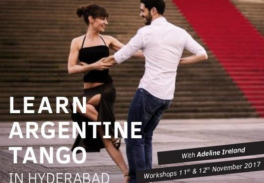 Learn Tango Argentino with Adeline, International Artist