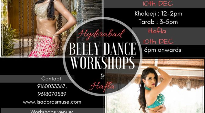 Belly Dance Specialty Workshops with Payal Gupta and Shruti N, 9-10 Dec, 2017