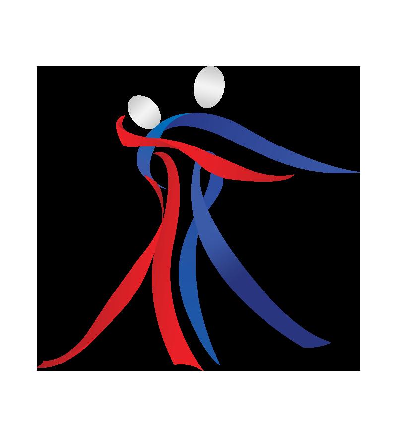 partner dance stylized